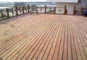 防腐木阳台地板3