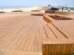 户外防腐木地板案例1