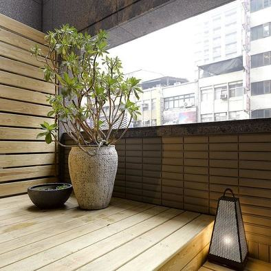 防腐木阳台案例 2